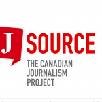 Logo for J-Source: the Canadian Journalism Project.