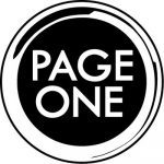 Logo for Page One coffee.
